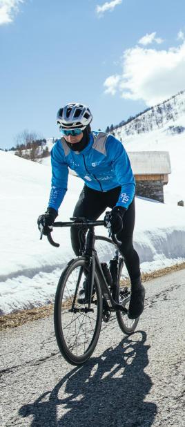 vélo de route hiver