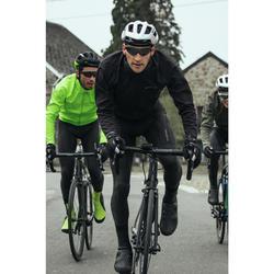 Fahrrad Winterjacke RR 500 für kalte Temperaturen schwarz