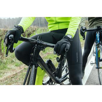 Culotte largo ciclismo con tirantes hombre VAN RYSEL roadr 500 NEGRO