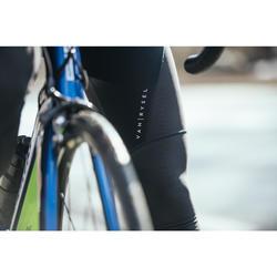 Lange Radhose mit Trägern Rennrad RR 900 Herren schwarz
