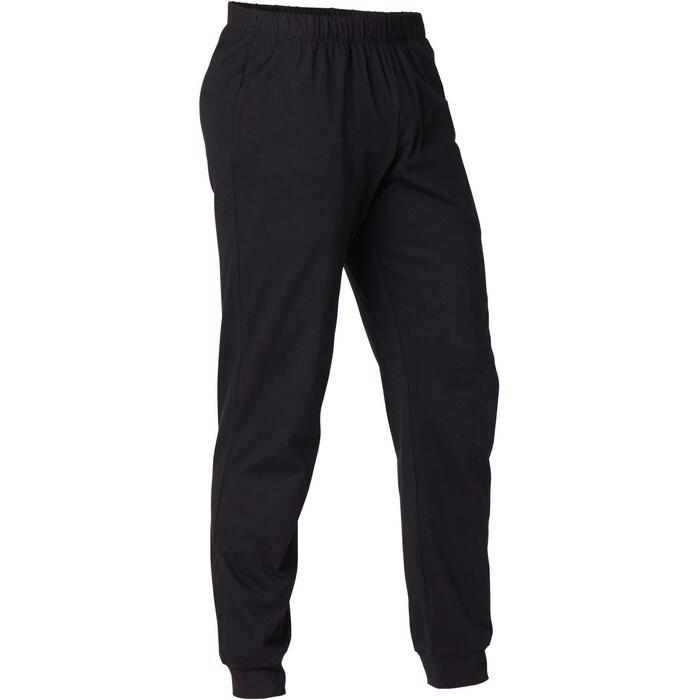 Pantalón Training Hombre Regular 120 Negro