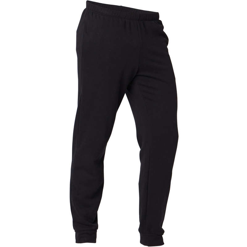MAN GYM, PILATES COLD WEATHER APPAREL Activewear - Men's Regular Gym Bottoms 100 NYAMBA - Men