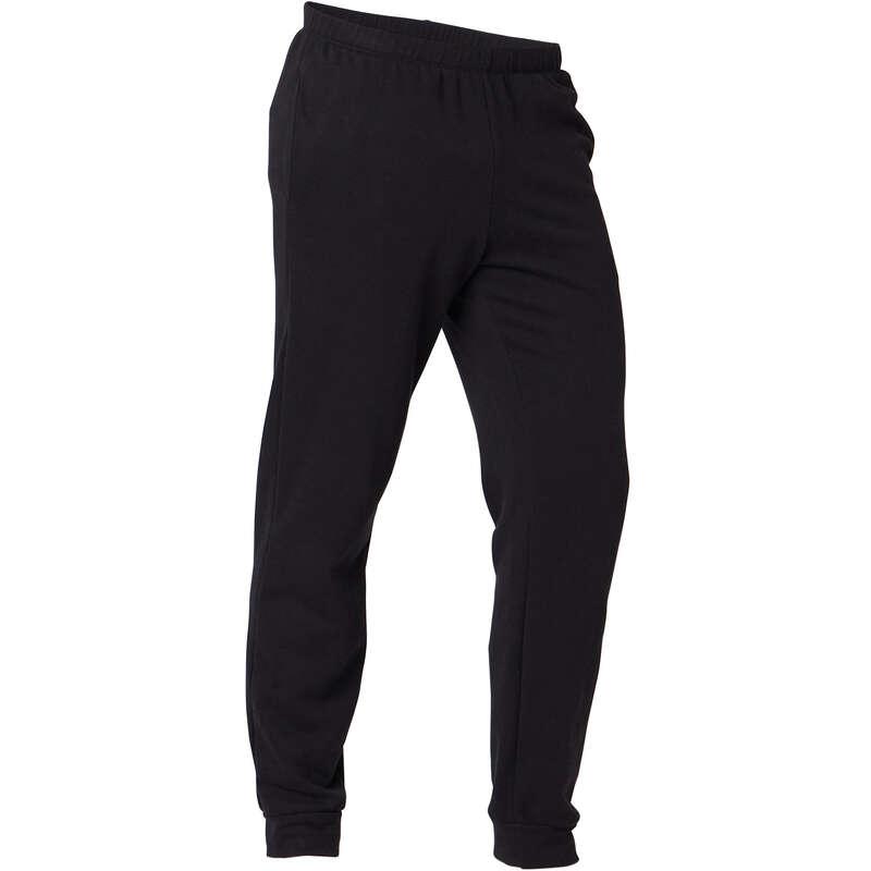 MAN GYM, PILATES COLD WEATHER APPAREL Activewear - Men's Regular Gym Bottoms 100 NYAMBA - Men