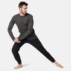 Pantalon jogging Fitness Bas resserré Noir