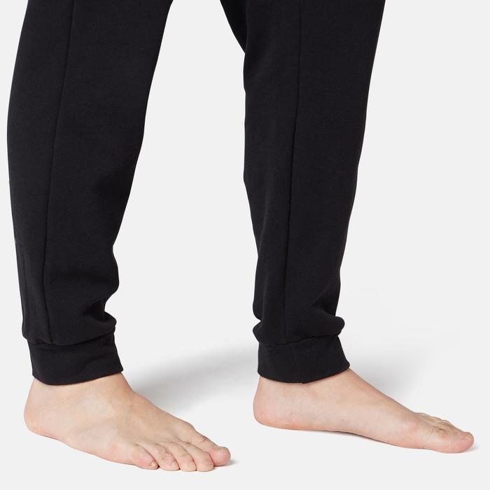 Pantalón Training Hombre Regular 100 Negro