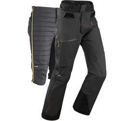 Pantalón de esquí Freeride y travesía libre hombre FR 900 gris