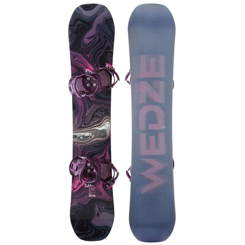 WOMEN INTERMEDIATE SNOWBOARD EQUIPMENT Snowboarding - ENDZONE 500 Pack WEDZE - Snowboarding
