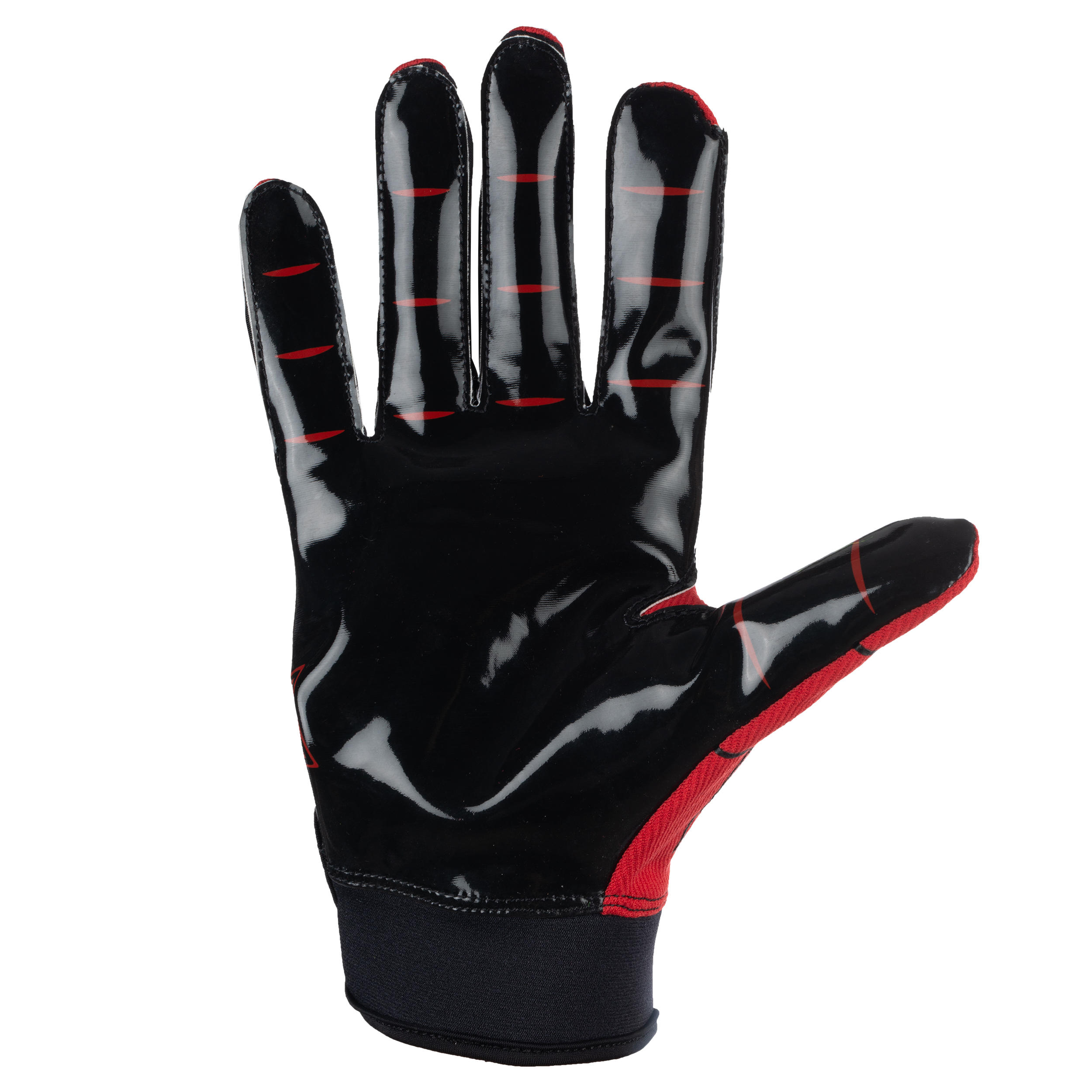 Kipsta AF550Gr Adult American Football Gloves Red