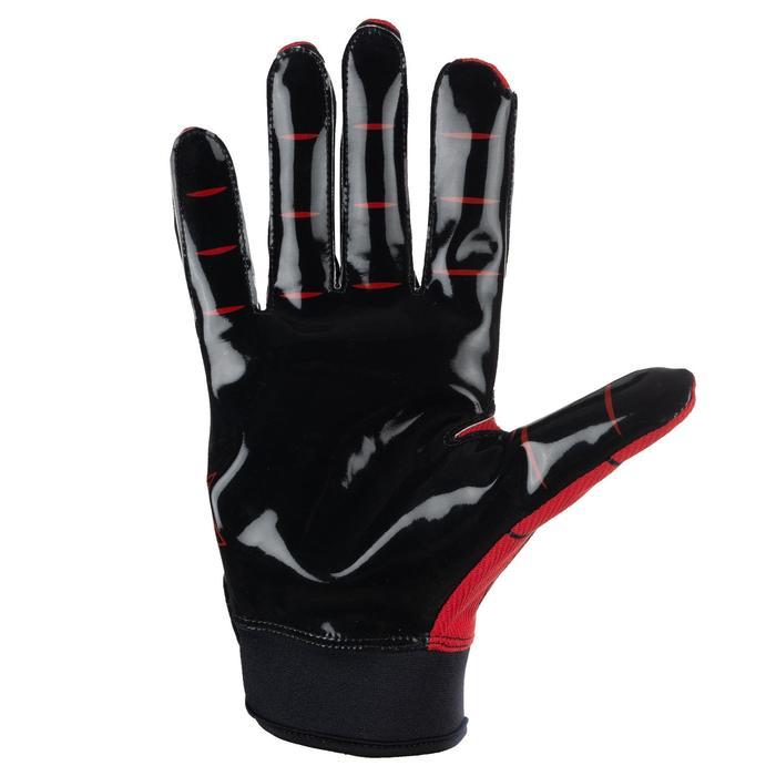 American Football handschoenen AF550GR (rood)