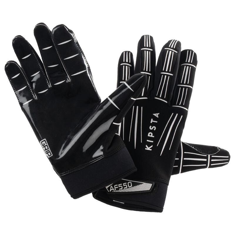 Rukavice na americký fotbal AF550GR černé