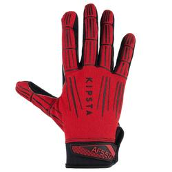 American football handschoenen volwassenen AF550GR rood