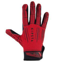 Gant de football américain adulte AF550GR rouge