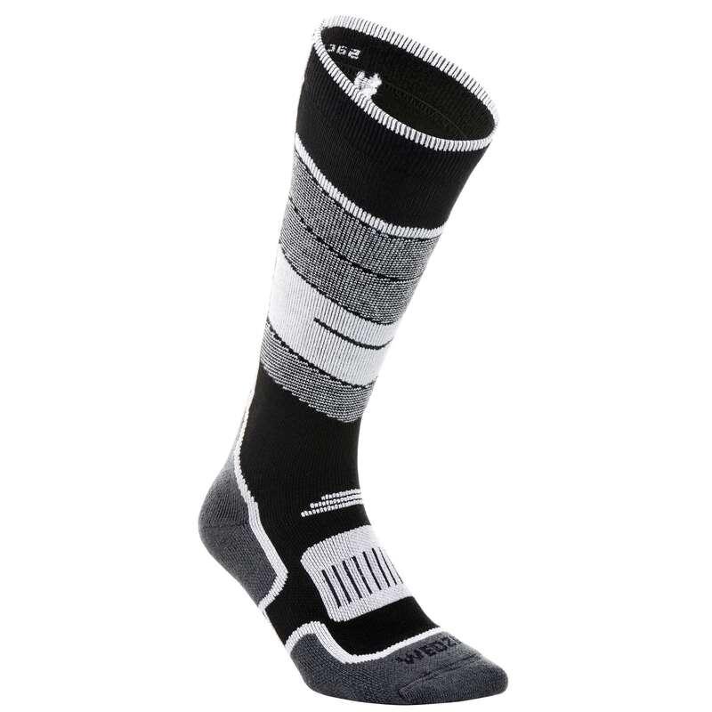 CALZE SCI ADULTO Sci, Sport Invernali - Calze termiche sci 300 nere WEDZE - Abbigliamento sci donna