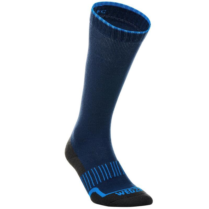SKI SOCKS 100 NAVY BLUE