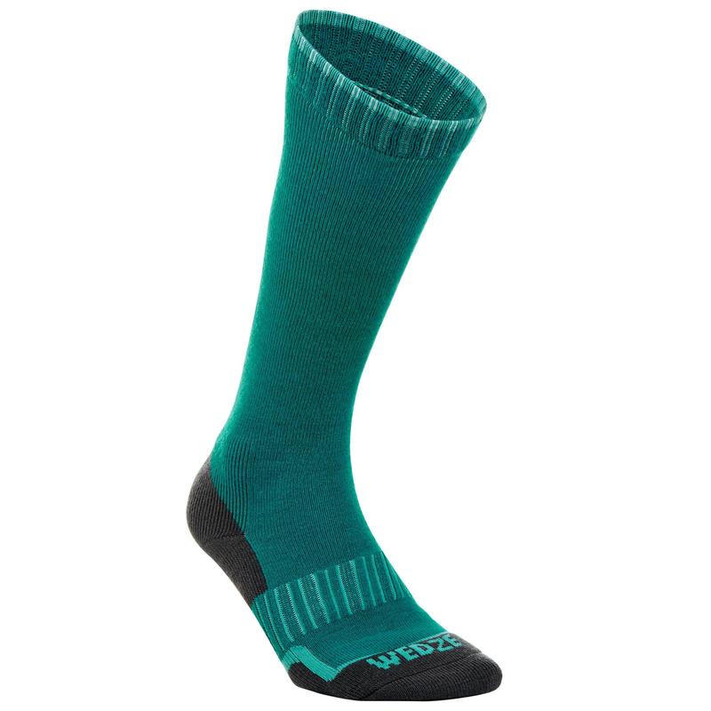 100 Adult Ski Socks - Green
