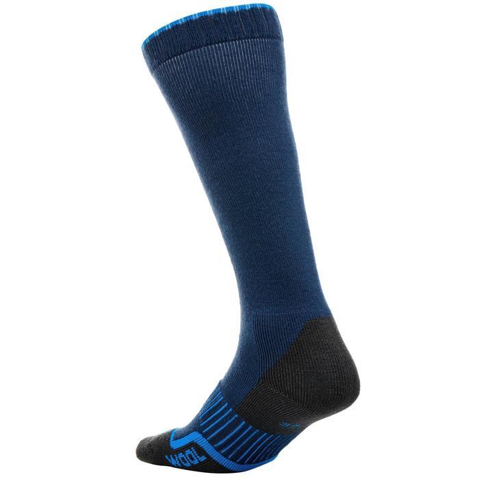 Calcetines Térmicos Esquí y Nieve 100 Adulto Azul