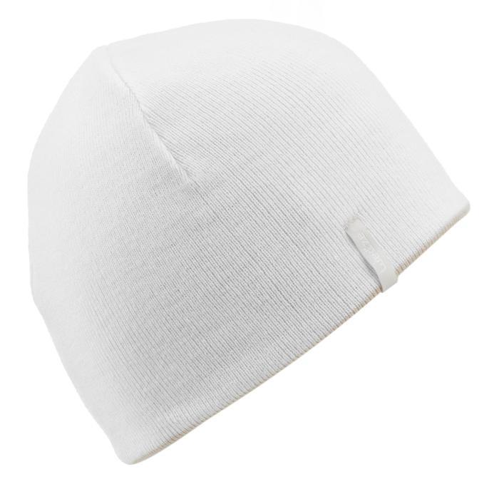 REVERSE SKIING HAT BEIGE WHITE