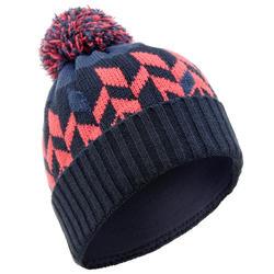 Adult Ski Hat Far North - Navy Coral