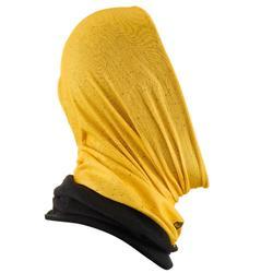 Buff nekwarmer voor volwassen skiërs Hug Spray oker