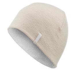 Skimütze Reverse beige/weiß