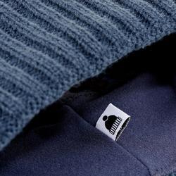 Skimuts voor volwassenen Grand Nord marineblauw/bordeaux