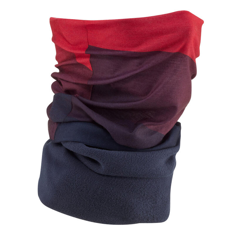 Adult Ski High-Tech Neck-Warmer Hug - Blue Red