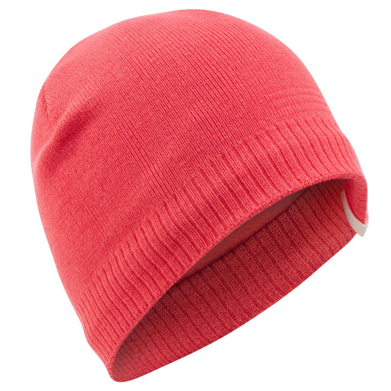 ADULT SKI AND SNOWBOARD HEADWEAR Skiing - PURE HAT - CORAL WEDZE - Ski Wear