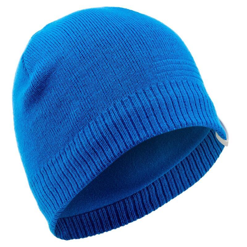 Gorro de NIeve y Esquí Adulto Wedze Pure Azul