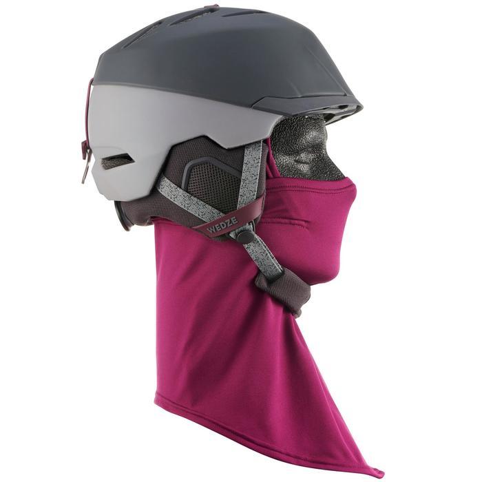 Unterhelmmütze Sturmhaube Ninja Erwachsene violett