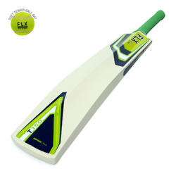 T150 SIZES 6, SH, CRICKET BAT LIME GREEN