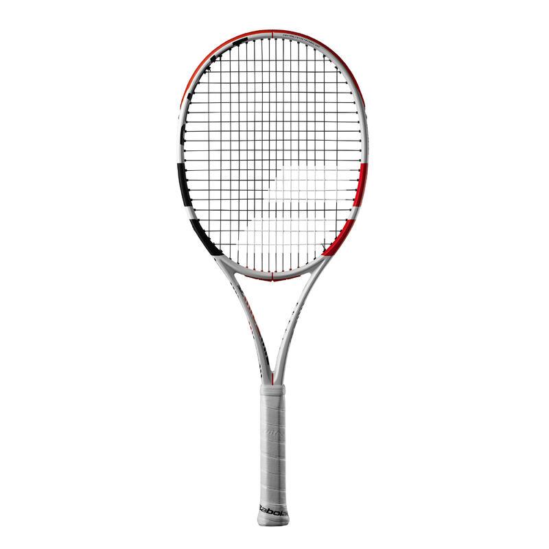 Raqueta de Tenis Babolat Pure Strike 100 Adulto Blanco Rojo (300 gr)