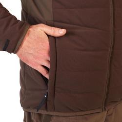 Warme en waterdichte 3-in-1 jas voor de jacht 900 bruin