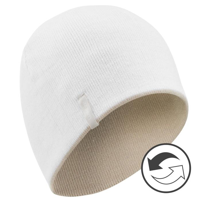 Skimuts Reverse beige wit