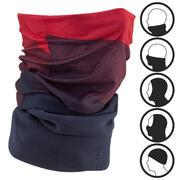Adult Ski Neck-Warmer Hug - Blue Red