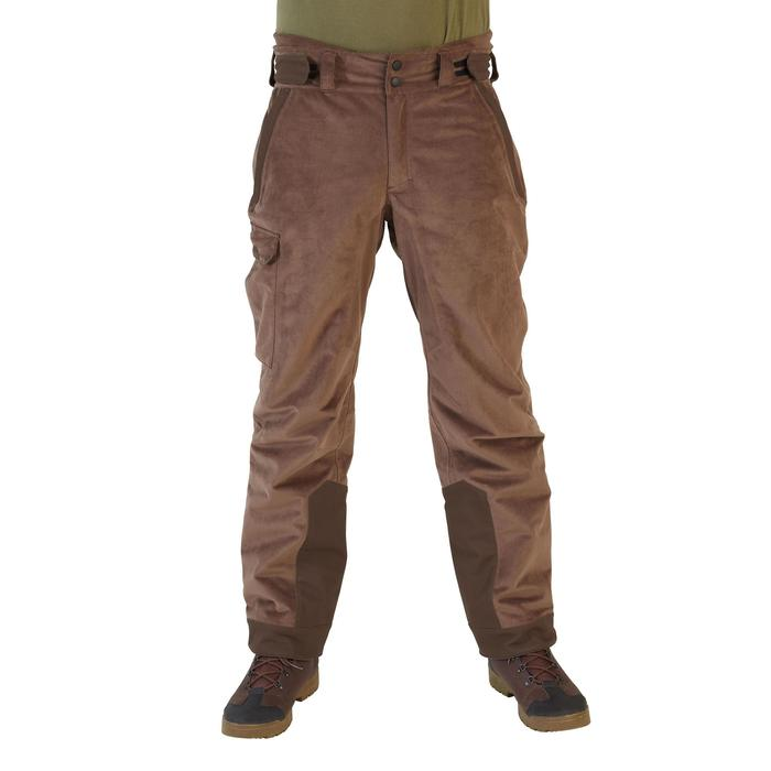 PANTALON IMPERMÉABLE CHAUD 900 MARRON