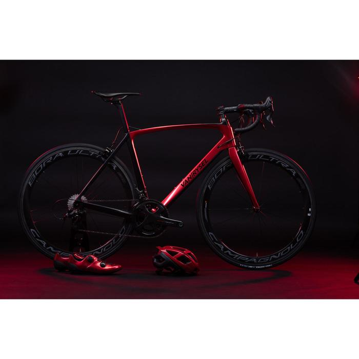Chaussures de vélo cyclo-sport VAN RYSEL rouge