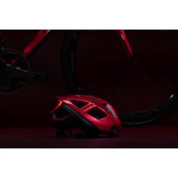 Fietshelm Racer rood