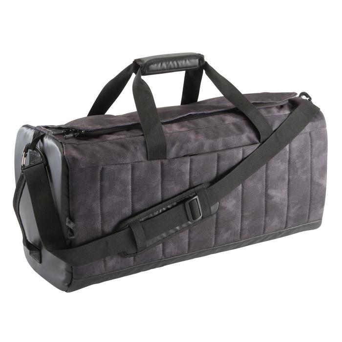 Bolsa de deporte gimnasio Cardio Fitness Domyos LikeAocker 40 litros gris camu