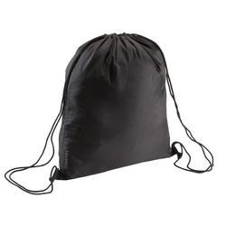 Bolsa para calzado fitness plegable negro