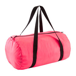 Sac de fitness pliable 30L rose