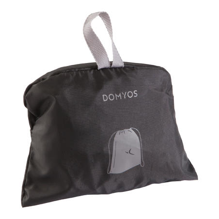 Fold-down Fitness Shoe Bag – Black