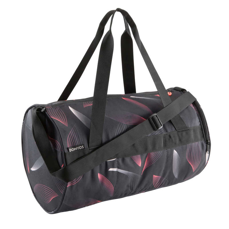 FITNESS CARDIO BAGS, ACCESS ALL LEVEL Fitness and Gym - Fitness Bag 20L - Print DOMYOS - Fitness and Gym