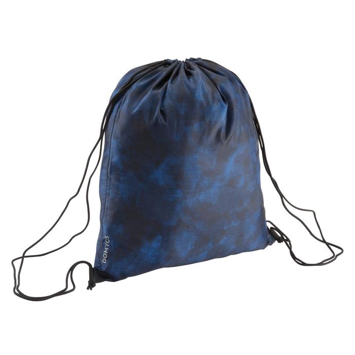 Mochila de cuerdas calzado Cardio Fitness Domyos azul camuflaje