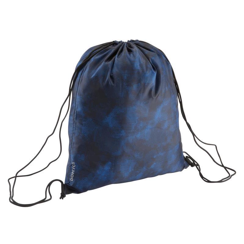 Fitness Cardio Training Fold-Down Shoe Bag - Blue Camouflage