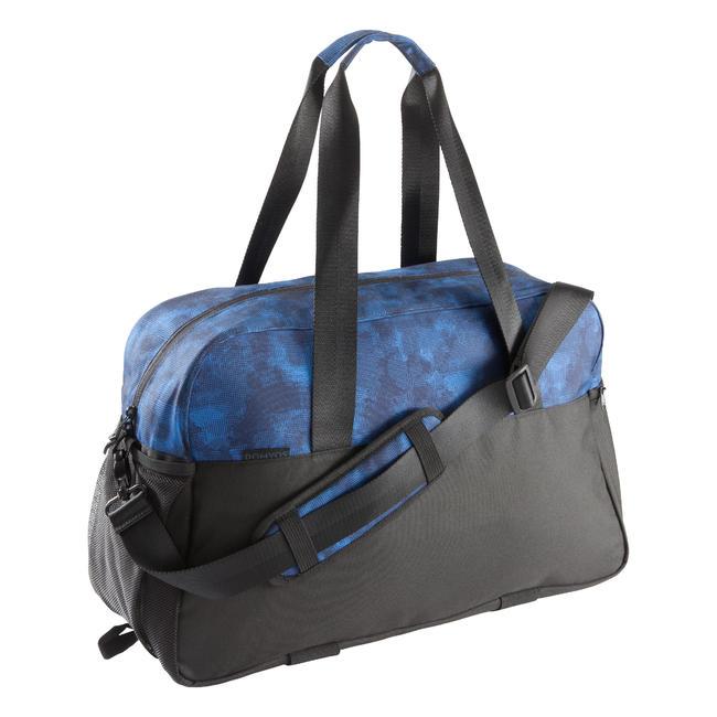 Fitness Duffle Bag 30L - Blue/Black