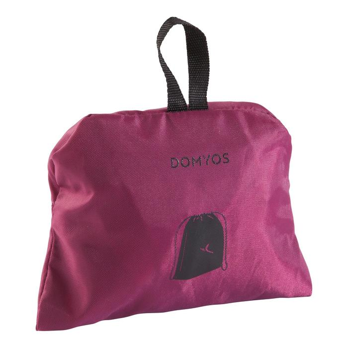 Opvouwbare tas voor fitnessschoenen bordeaux