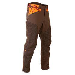 Pantalon Caza Solognac Supertrack 900 Impermeable Resistente