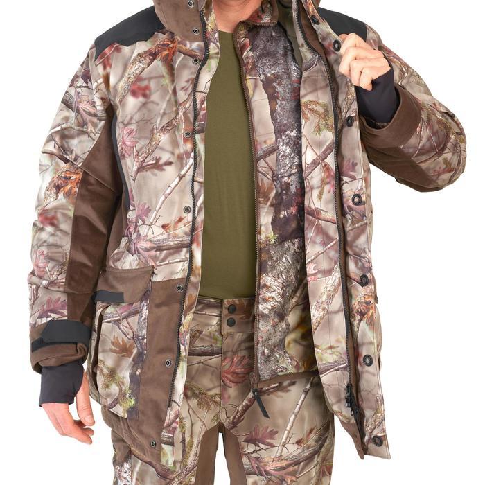 Warme en waterdichte 3-in-1 camouflagejas voor de jacht 900 bos