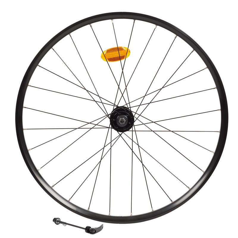27.5 x 23c Double-Walled QR Tubeless Disc Brake Mountain Bike Front Wheel