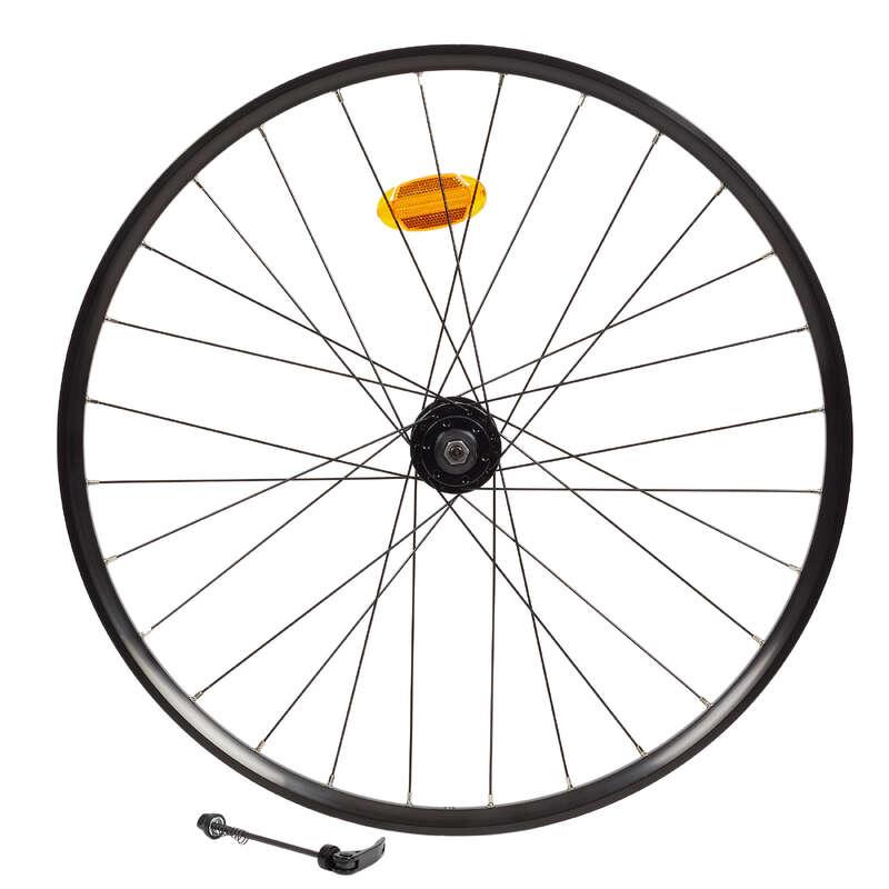 MTB kerekek Kerékpározás - MTB első kerék 27,5x23c Disc ROCKRIDER - Alkatrész, tárolás, karbantartás